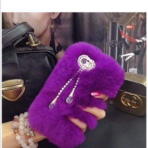 Accessories - Furry Phone Case iPhone 7plus